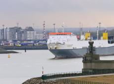 Zeebrugge haven