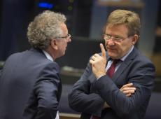 """Minister Van Overtveldt: """"Cruciale dagen voor Griekenland én de eurozone"""""""