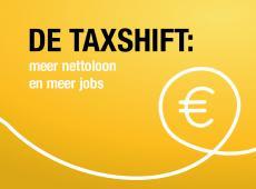 De taxshift: meer nettoloon en meer jobs