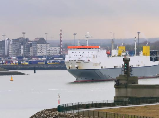 Zeebrugge haven